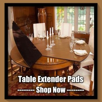 Table Pads Custom Made Dining Room Table Pad Protectors